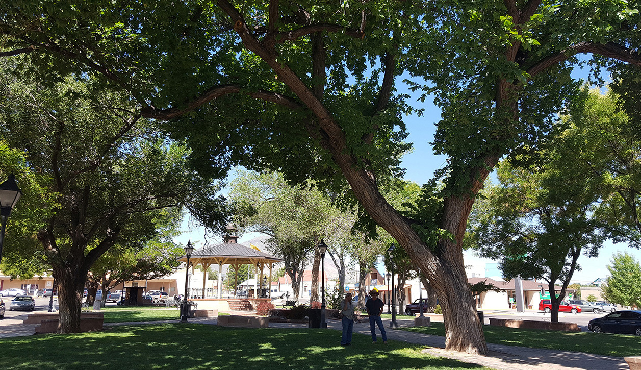 Socorro Plaza, as it appears today.