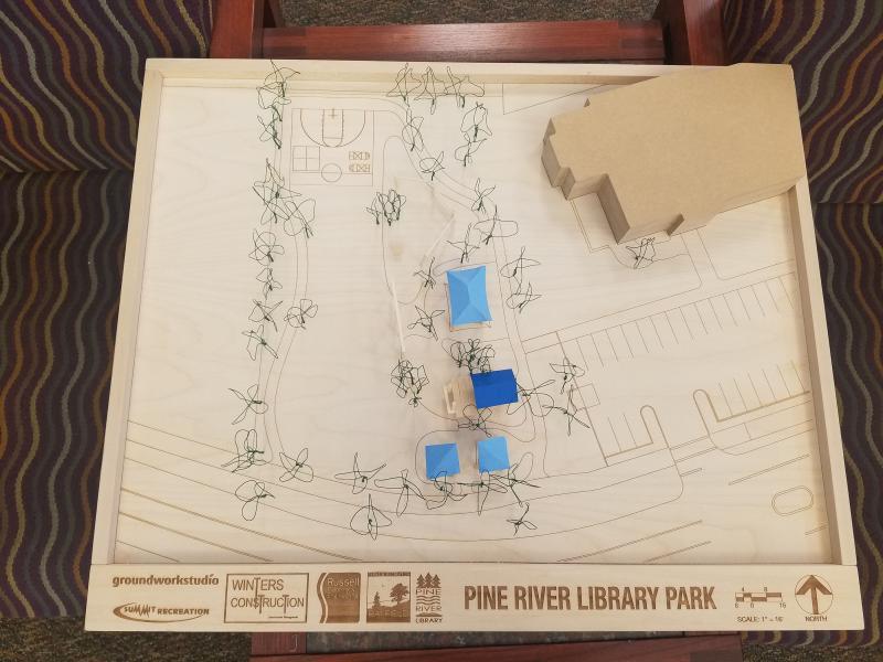Pine River Library Park Design