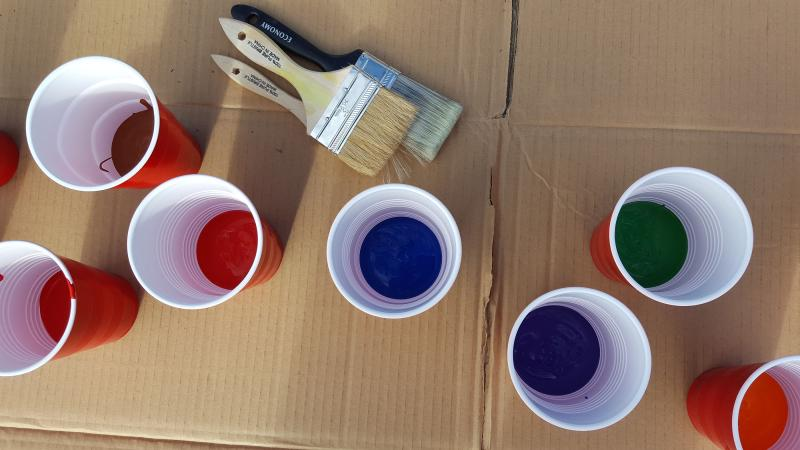 Pop Up Playgrounds Colorful Cups
