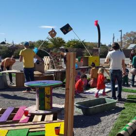Pop Up Playgrounds Full View