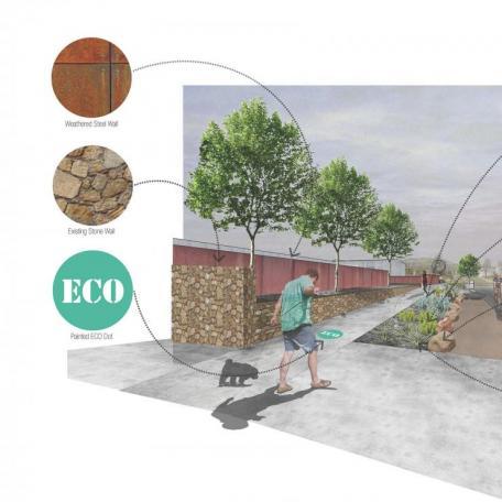 New Mexico Mainstreet Design Details