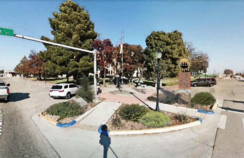 Lovington Wayfinding_Courthouse looking NE