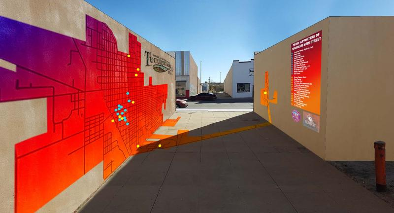New Mexico Mainstreet Mural Art
