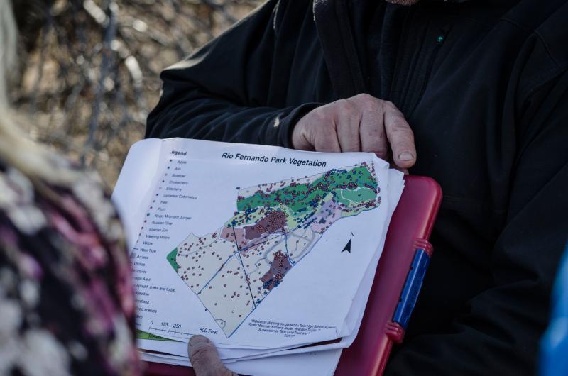 Rio Fernando Park Master Plan Vegetation Map
