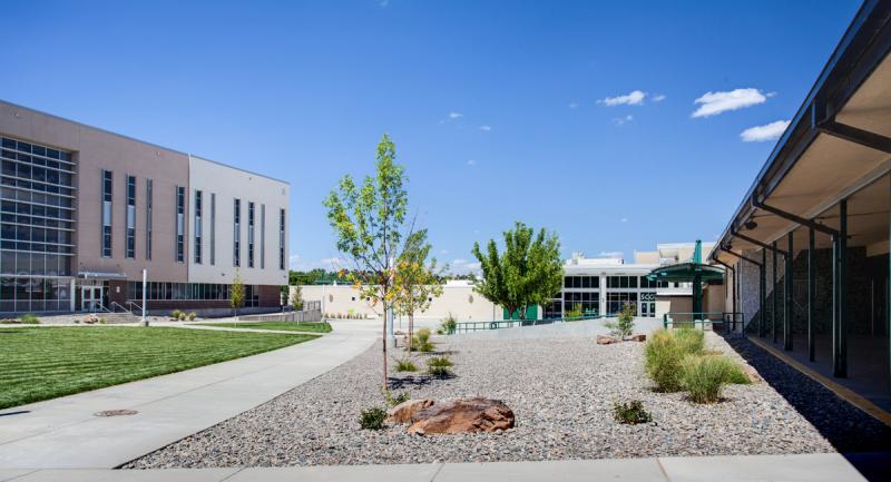 Farmington High School Courtyard Pathway