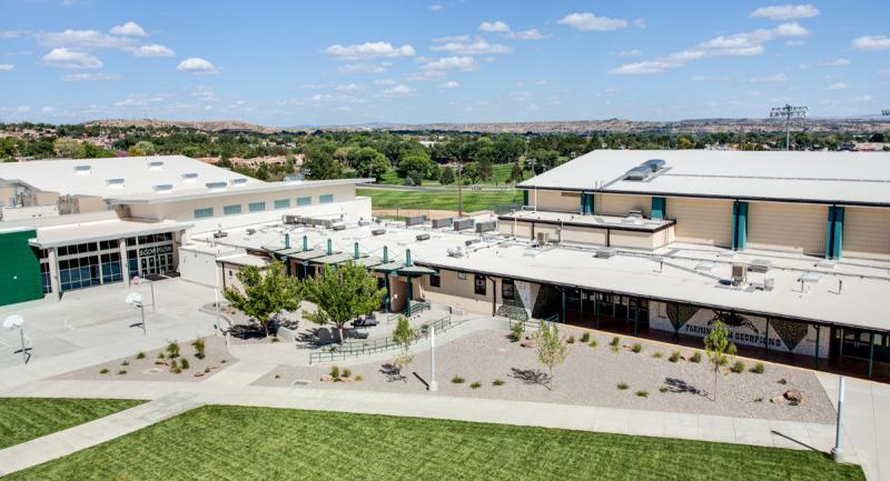 Farmington High School Courtyard & Exterior
