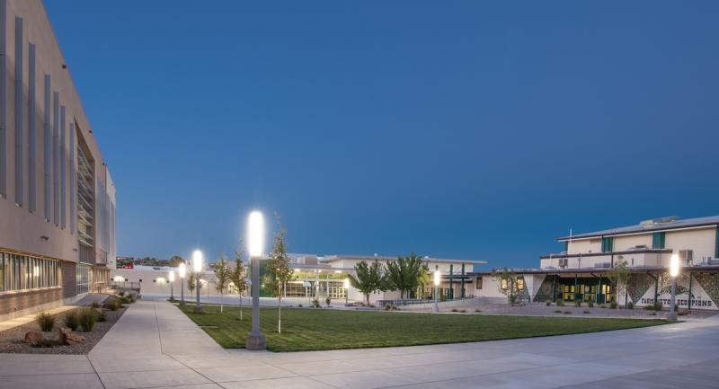 Farmington High School Courtyard Lighting