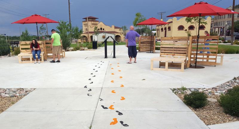New Mexico Mainstreet Footprint Pathway