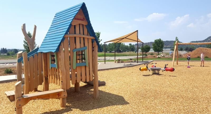 Pine River Library Park Play Structure