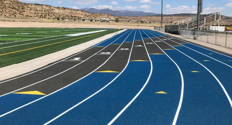 Laguna Acoma High School Track