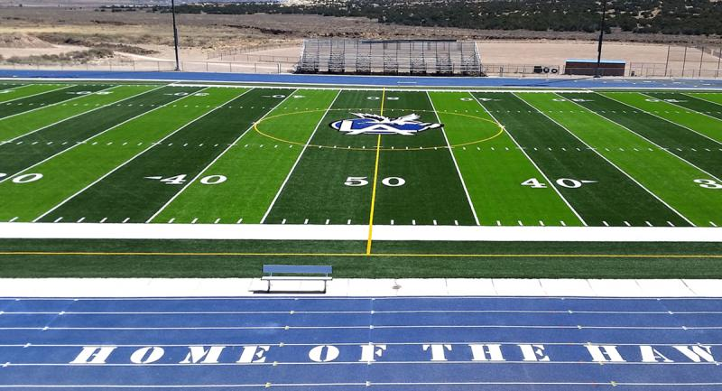 Laguna Acoma High School Center Field