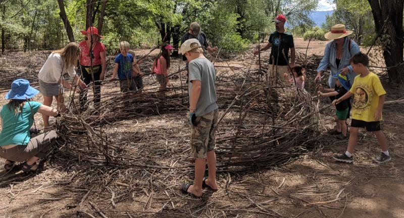 Rio Fernando Park Master Plan Group Building Nests